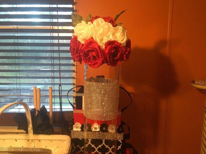 Tall Bling Vase