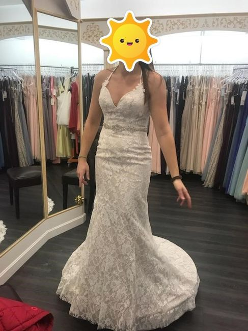 Picked up my dress - help 1