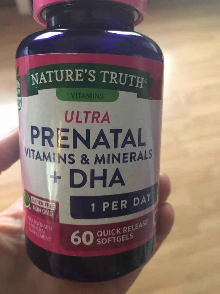 Prenatal Vits?! - 1
