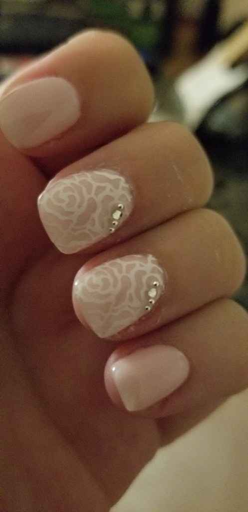 Wedding nails - 1