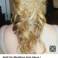 Brides, how are you accessorizing your hair? or how did you? - 1