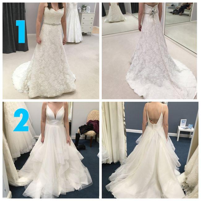 Dress 1 or 2? 1