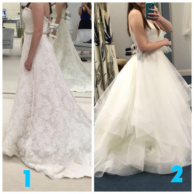 Dress 1 or 2? 2