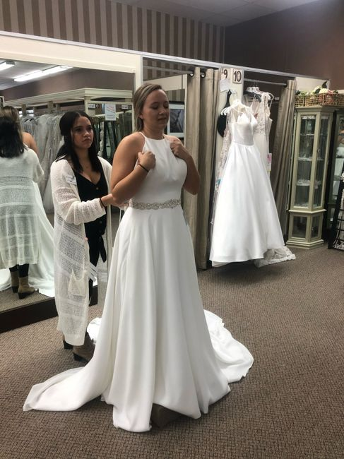 First time dress shopping and thoughts 2