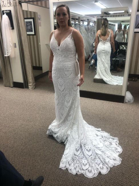 First time dress shopping and thoughts 3