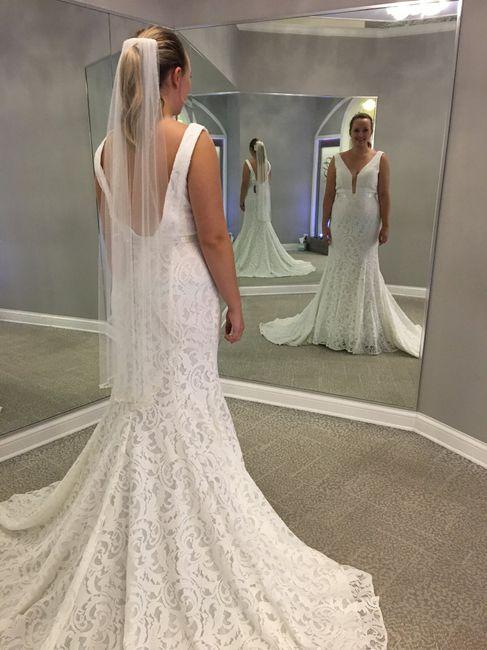 Mermaid/trumpet wedding gowns! 9