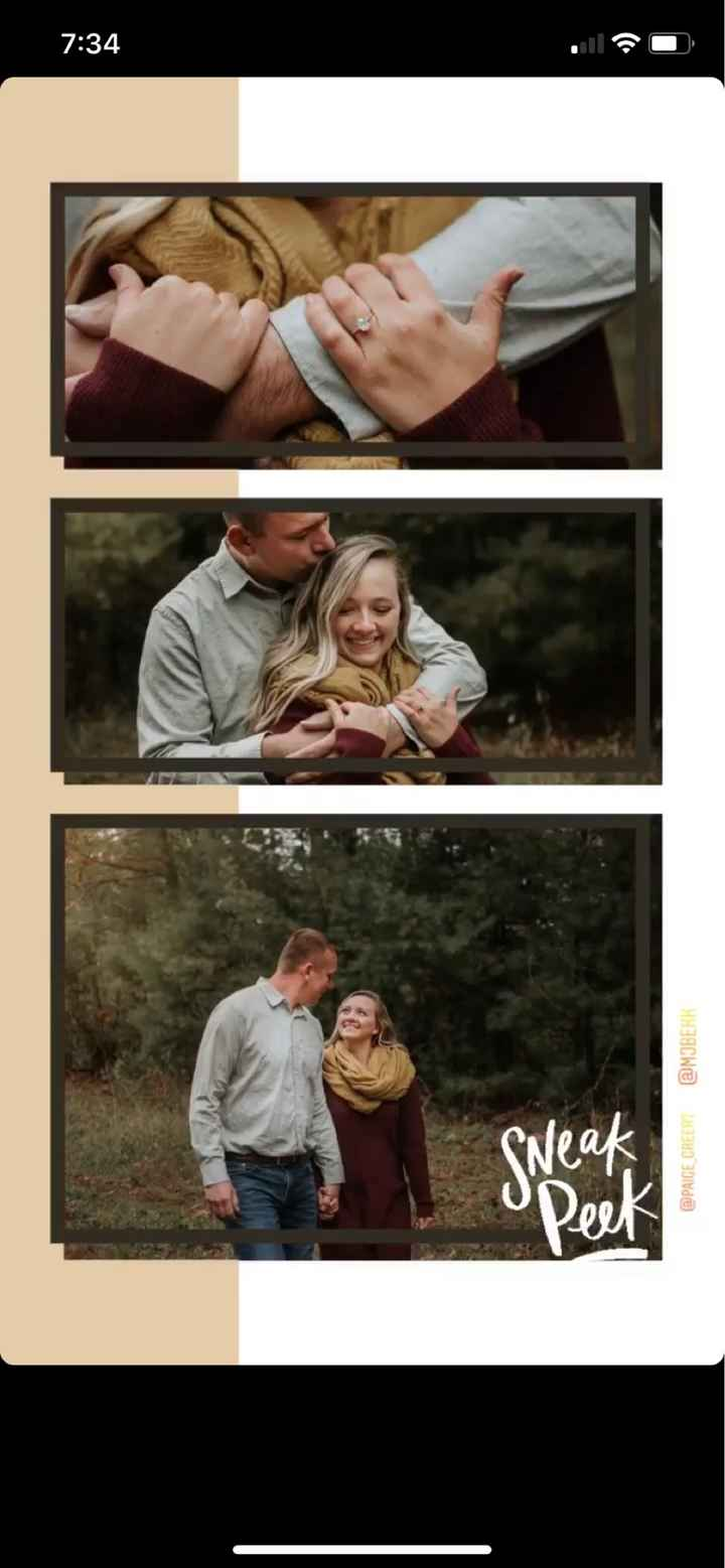Engagement picture sneak peek - 2