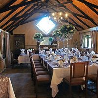 Semi Private Dinning Area in Restaurant