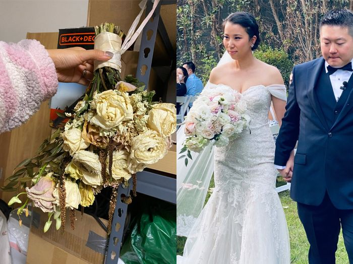 How do you dry your bouquet? 2