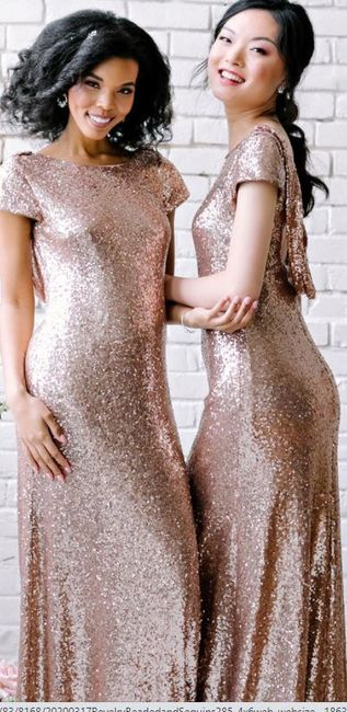 What color Bridesmaid Dresses would work best with my gown? 4