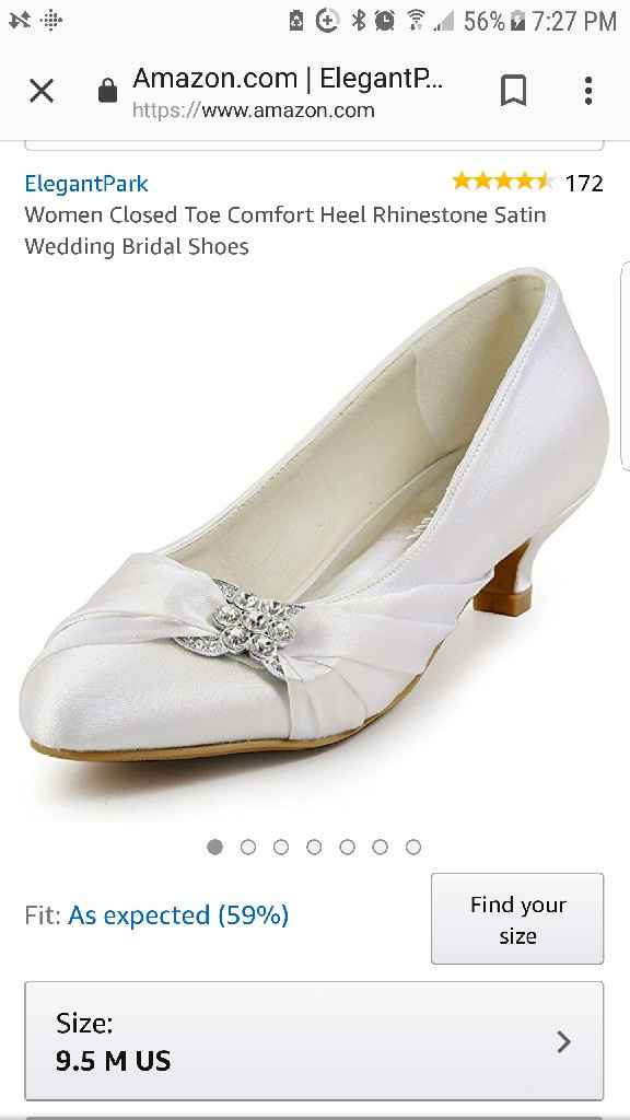Wedding shoes question - 1