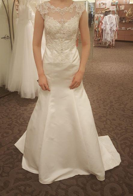 Show me your David's Bridal Dresses 2
