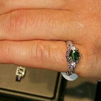 Who else has gemstones in their ring(s)?  Let's see them! - 1