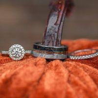 Environmentally friendly men's wood rings? Help please!