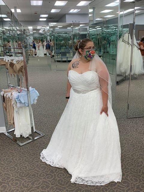 Dresses from David's Bridal 11