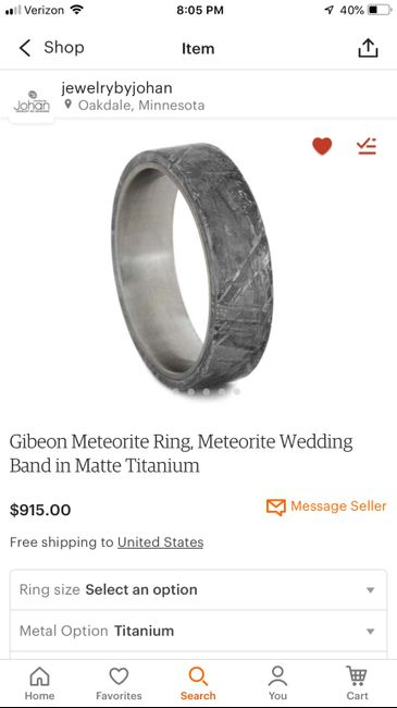 How much was your fiancés ring? Ur mans :) 5