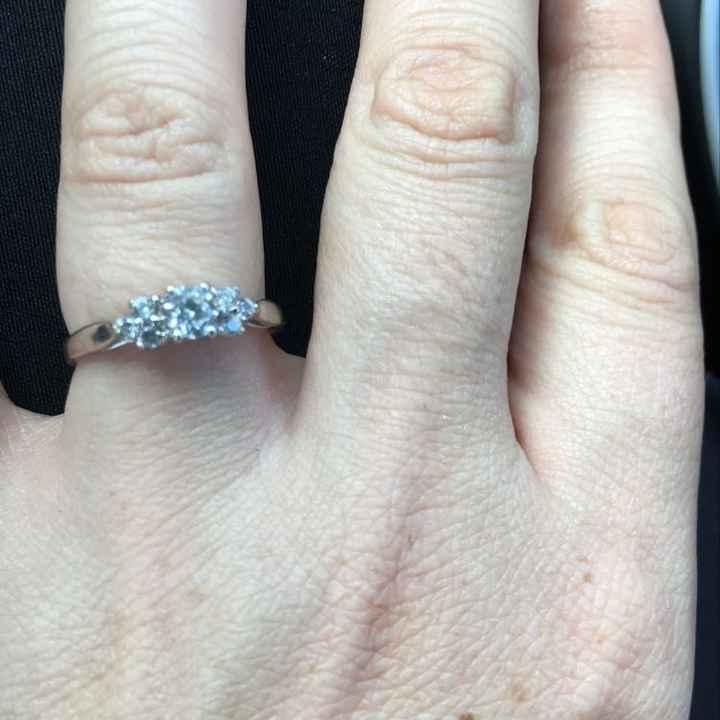 Non diamond rings :) - 1