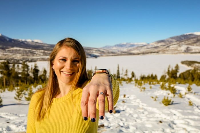 Was your proposal a surprise? Or did you see it coming?? 💍 6