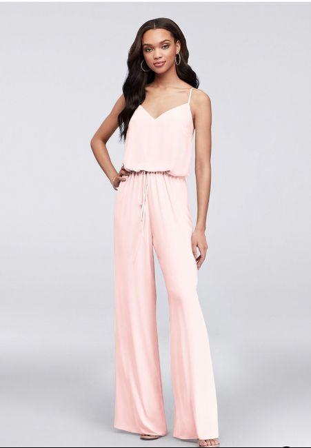 Bridesmaid attire - 1