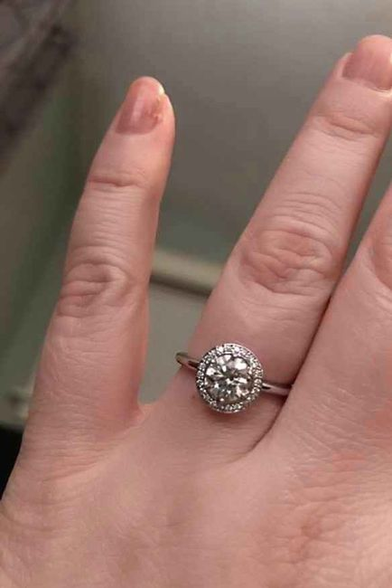 i want to see your engagement rings! 15