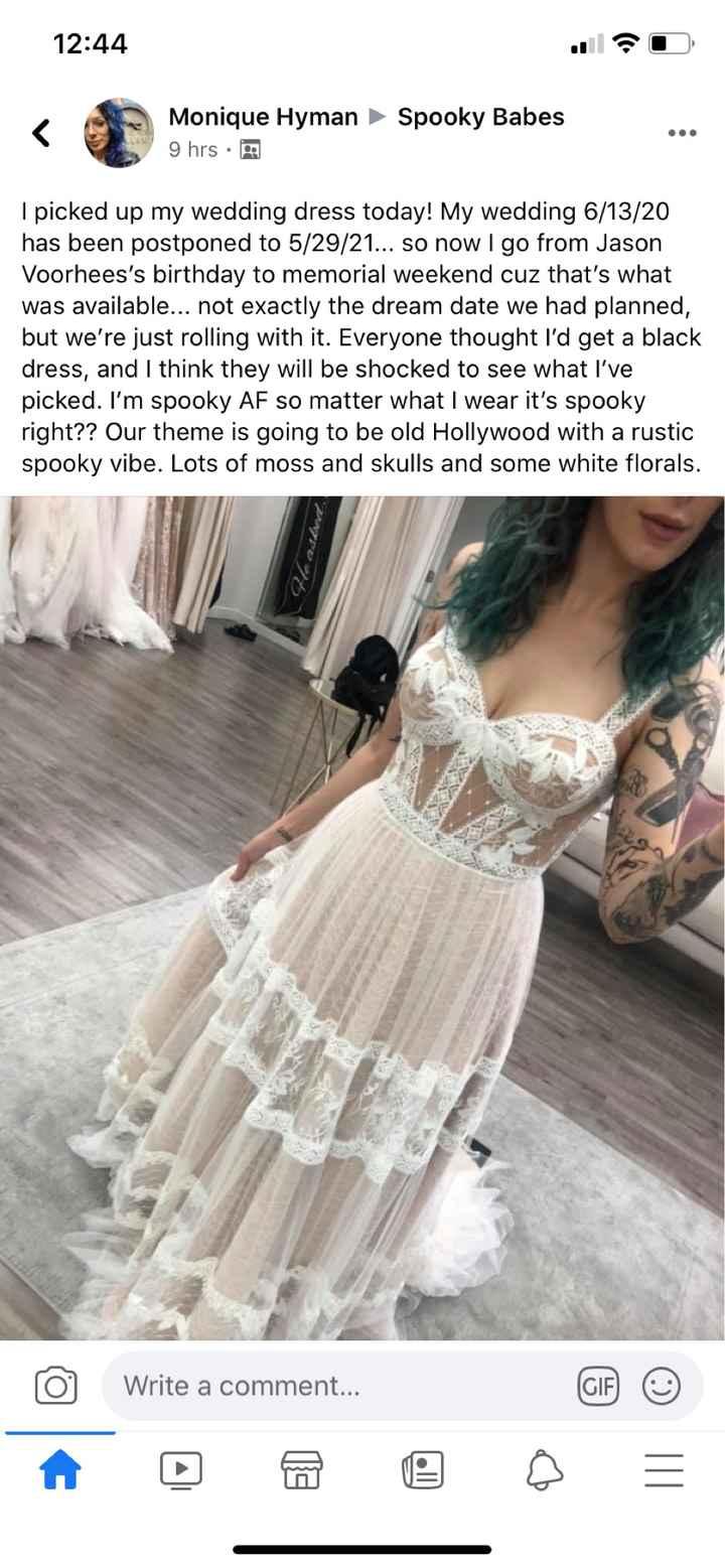 Can anyone name this dress?! - 1