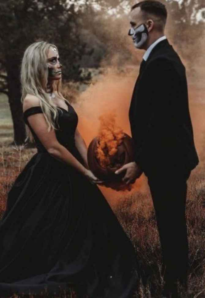 H🍁ll🎃ween weddings - 1