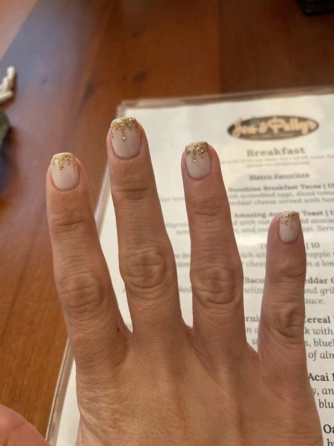 Finger nail color - 1