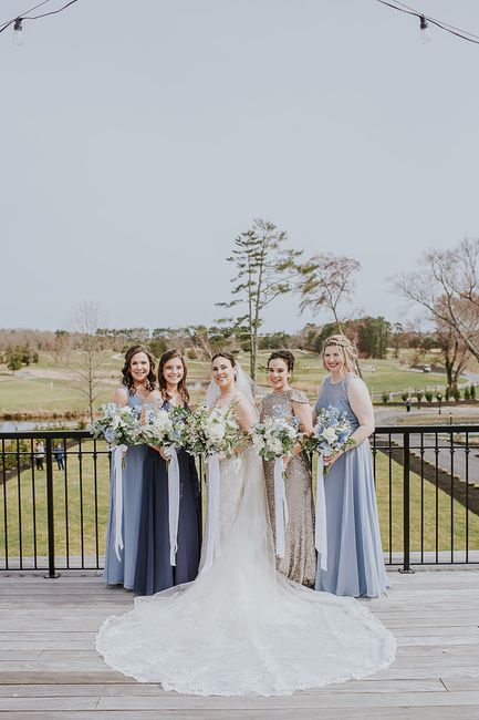 Mismatched bridesmaid dress examples? 12