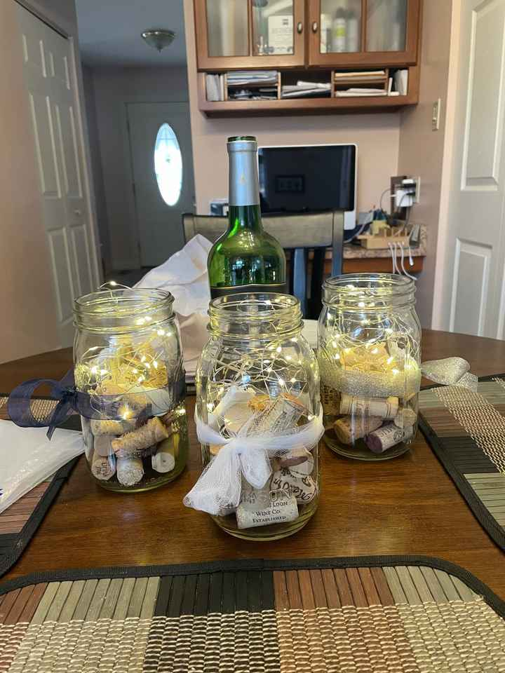 What DIY's have y'all done for your weddings that you'd love to share? - 1