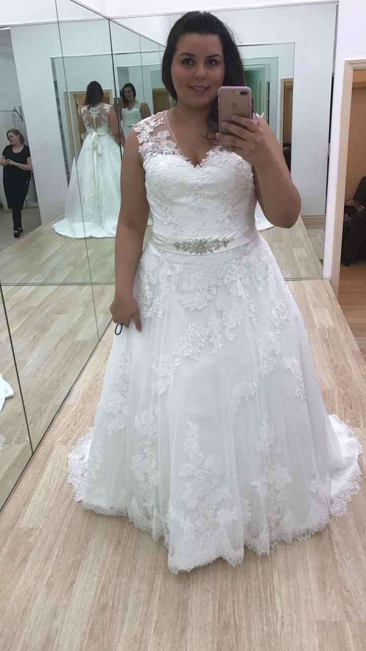 I picked up my dress!