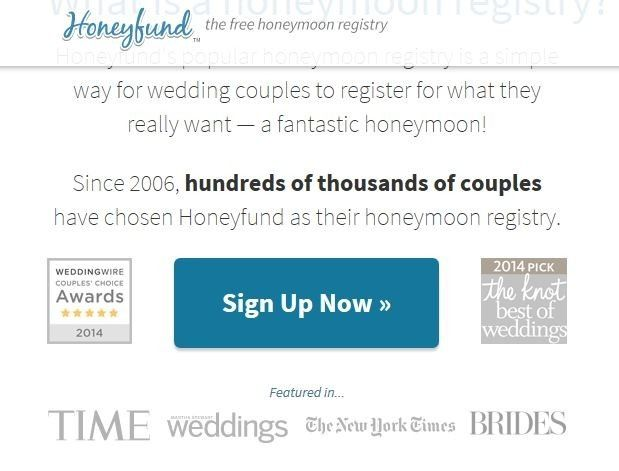 What To Register For Wedding.Honeyfund Got The Knot Award Really Weddings Planning