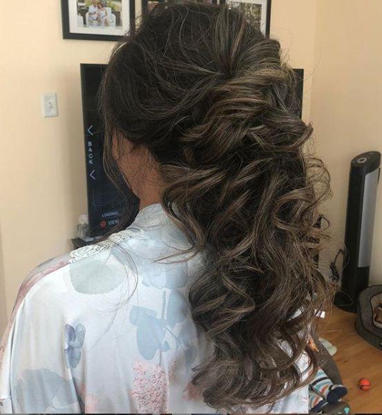 Windy Beach Wedding - Need Hair Help 13