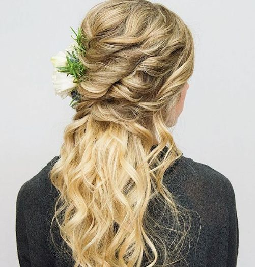 Windy Beach Wedding - Need Hair Help 14