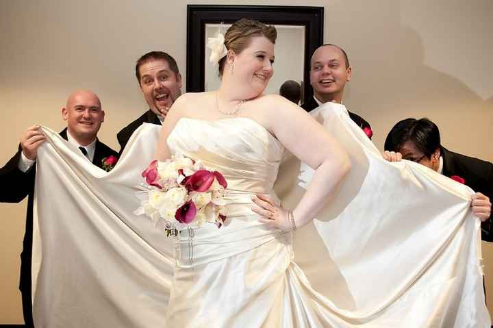 Lets see your wedding dress!