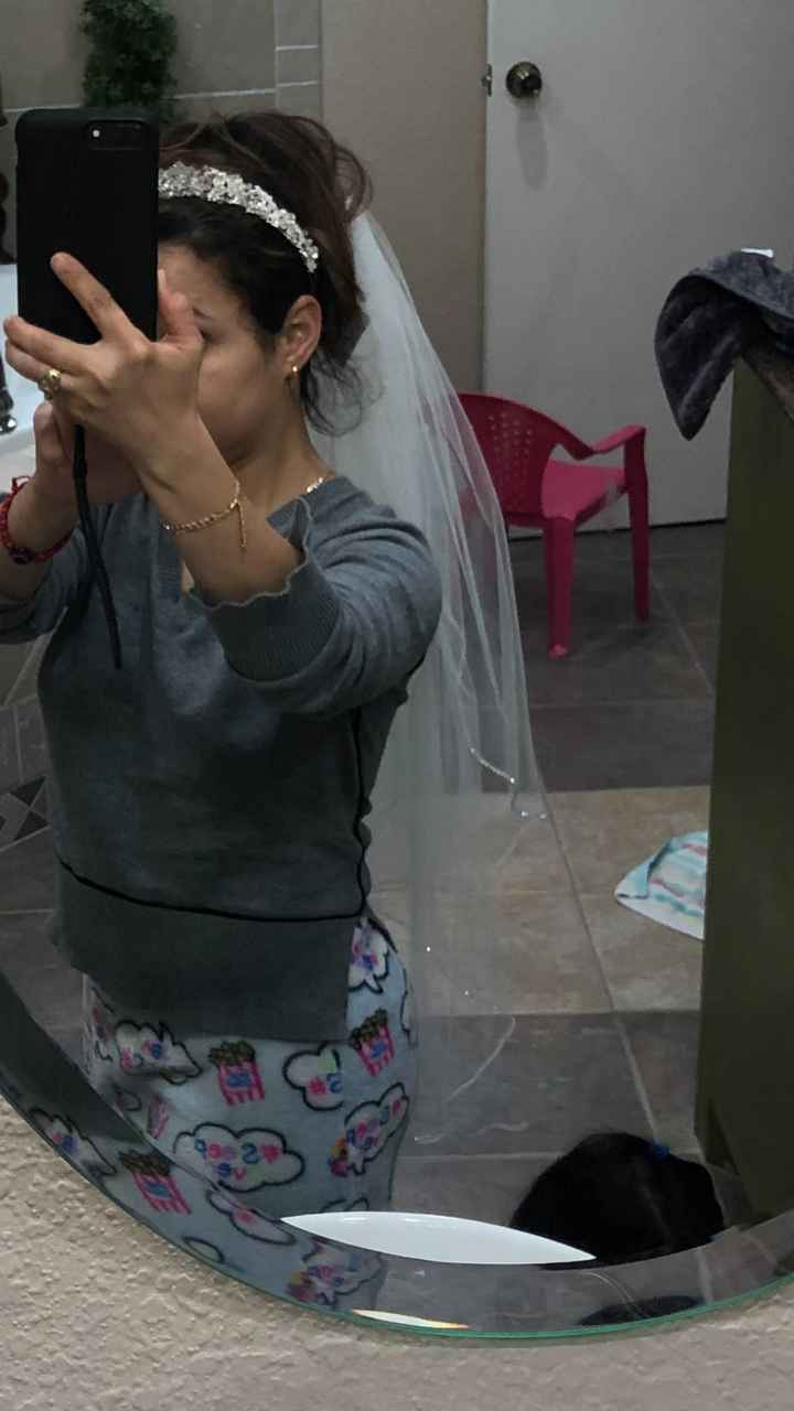 Veils with bling - 1