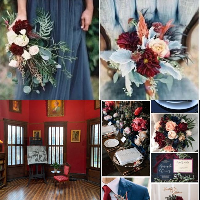 What colors did you choose for your wedding? 3