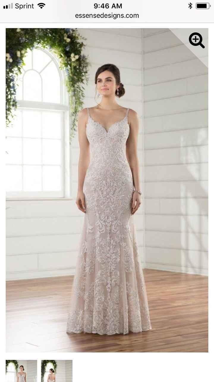 Bridesmaid ideas to coordinate w wedding dress - 1