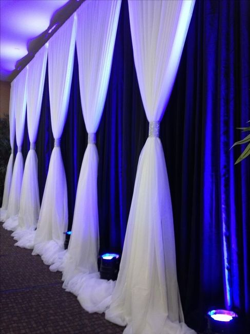 Draping Fabric? | Weddings, Style and Décor | Wedding Forums ...