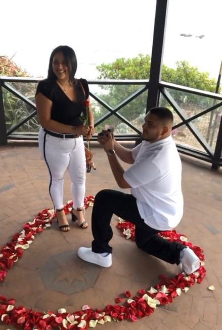 Was your proposal a surprise? Or did you see it coming?? 💍 11