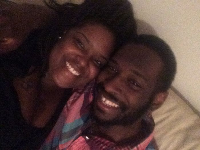 Post your first selfie as a couple! 20