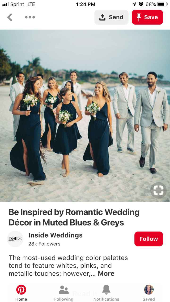 Struggling to find beach wedding colors! - 1