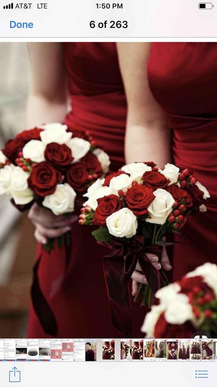 Bridesmaid bouquet inspiration