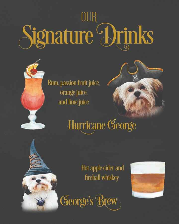 Signature Drink Poster!