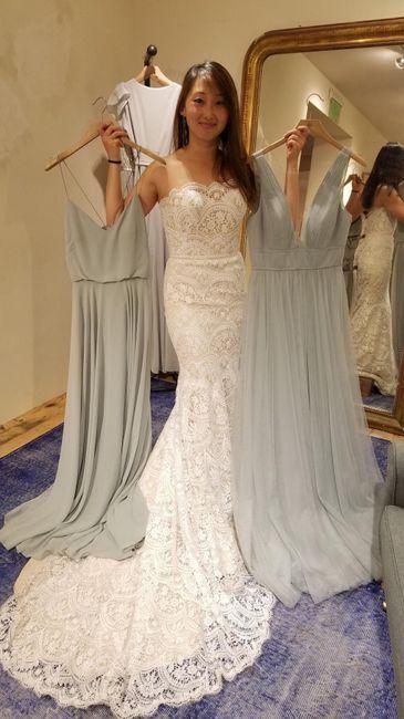 Mermaid/trumpet wedding gowns! 20