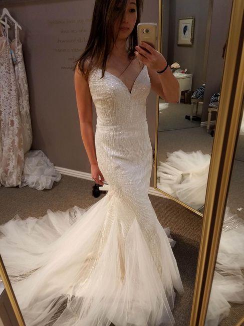 Mermaid/trumpet wedding gowns! 21