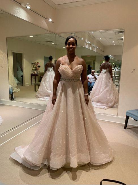 Wedding dress contenders (aka rejects) - 1