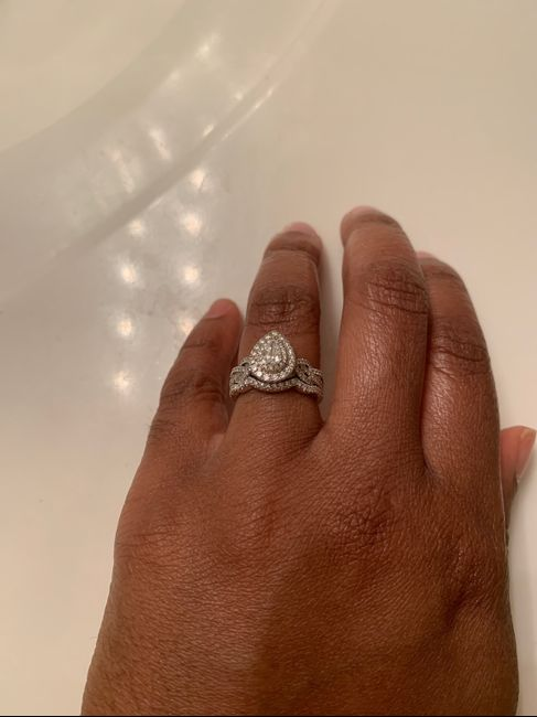 Show off that ring !!! 💍💍💍💍🥂🥂🥂 4