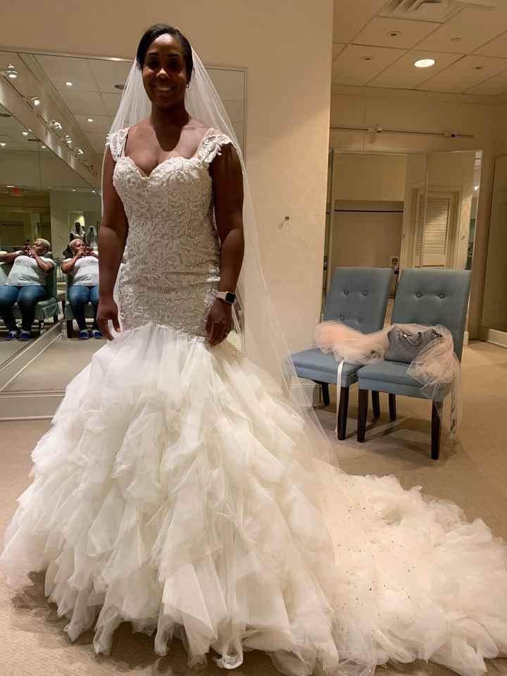Wedding dress contenders (aka rejects) - 2