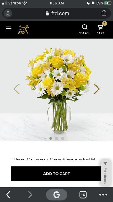 All White Flowers or Pop of Color?? 2