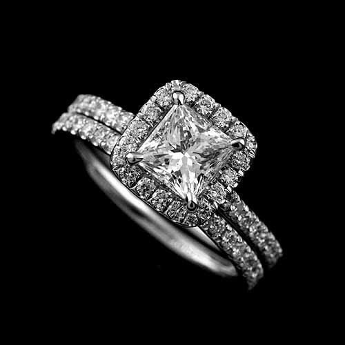 741145367b6 Ladies with halo rings…what does your wedding band look like ...
